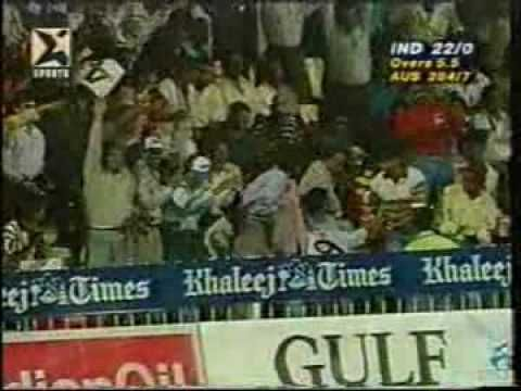 Sharjah 1998: Doesn't get any better than this: Cricket's best batsman at his best! Single-handedly took India to final!