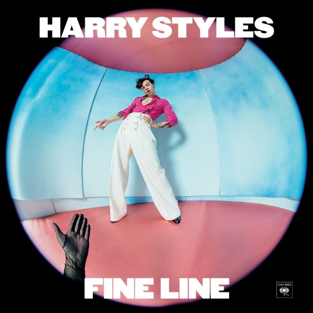 """Columbia Records UK on Instagram: """"FINE LINE // HARRY STYLES // OUT NOW"""""""