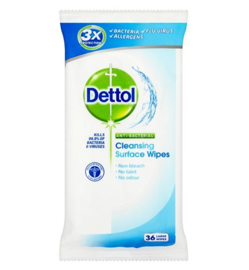 Dettol Antibacterial Surface Wipes 1 Pack Boots