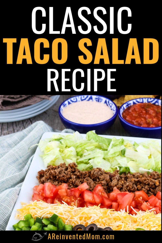 Taco Salad Homemade Recipe