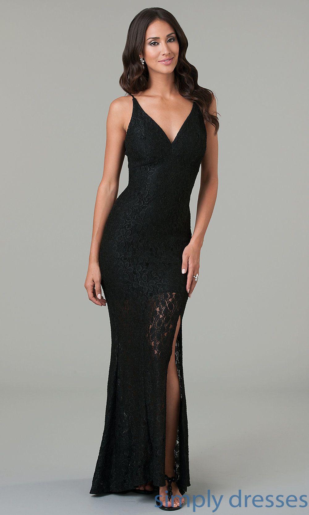 Shop Simply Dresses for black lace evening dresses. Wear open back ...
