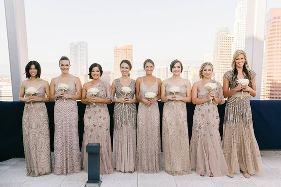 Adrianna Papell Mix N Match Bridesmaids In 2019