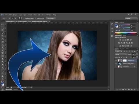 adobe photoshop cs6 remove change background youtube photoshop
