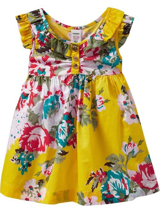 bbd734d8a Old Navy | Ruffled Flutter-Sleeve Dresses for Baby | Kids' Style ...