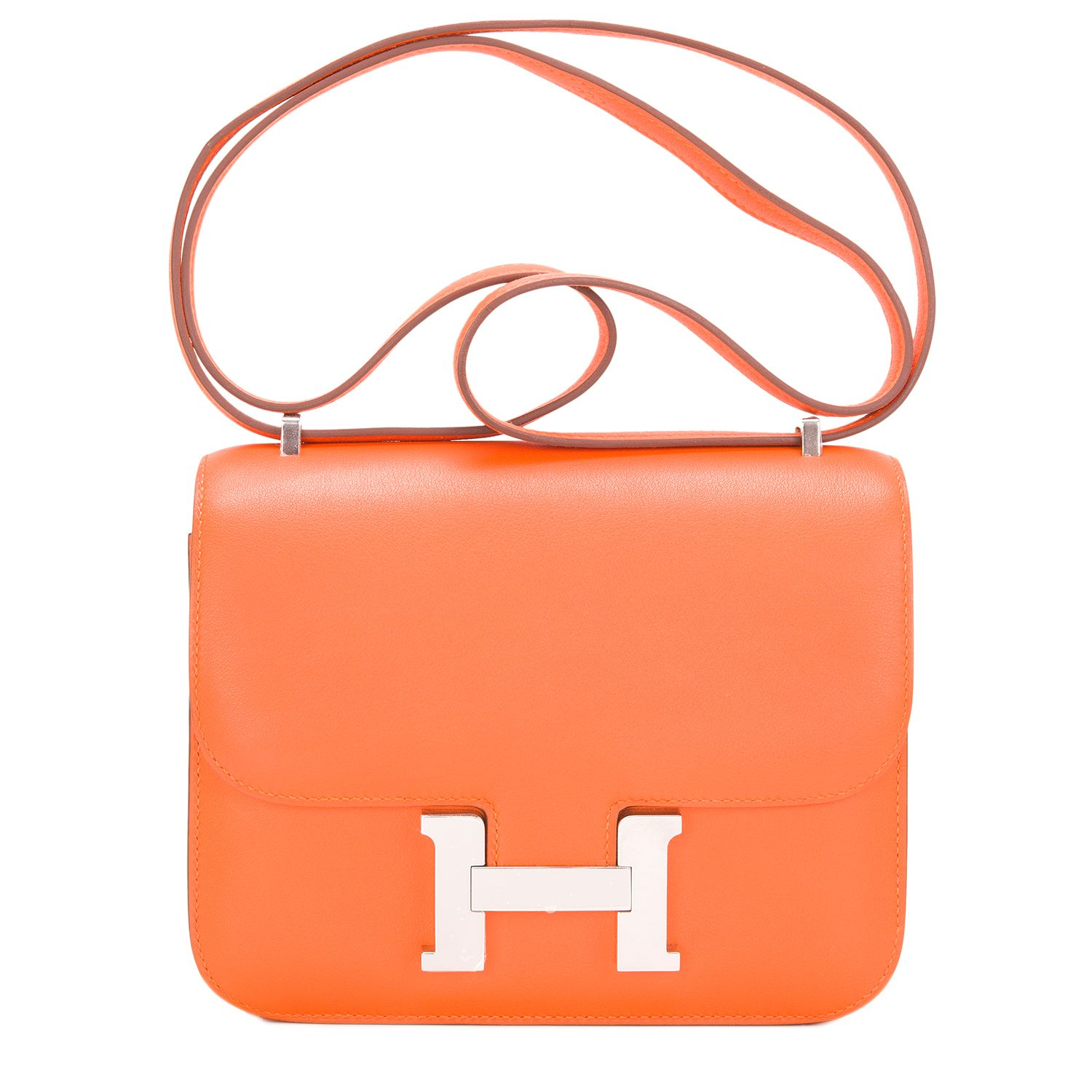 c9c7e87802c4 Hermes Constance Orange H Swift Mini 18cm  hermes