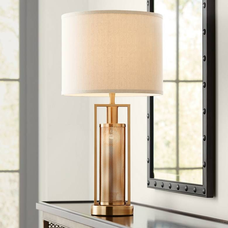 Franklin Iron Works Milly 28 High Night Light Table Lamp 36x30