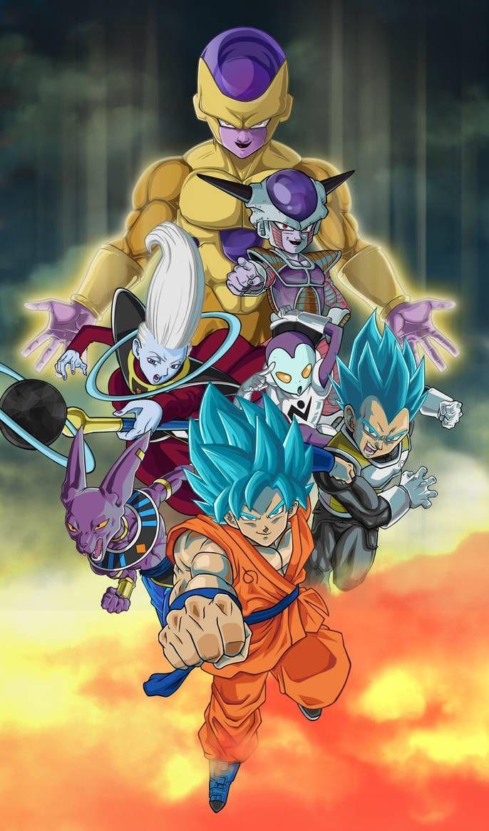 Fanart dragon ball super by Bankai-no-jutsu on DeviantArt