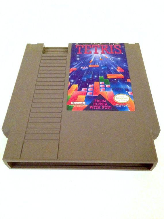 Vintage Tetris NES Nintendo Game 1989