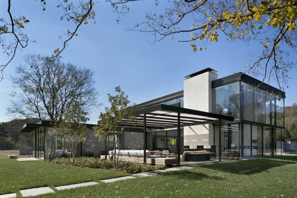 Casa en la pradera pinterest granjas estudiar y granja moderna