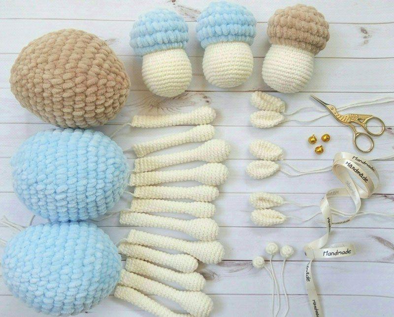 Crochet modelo de oveja