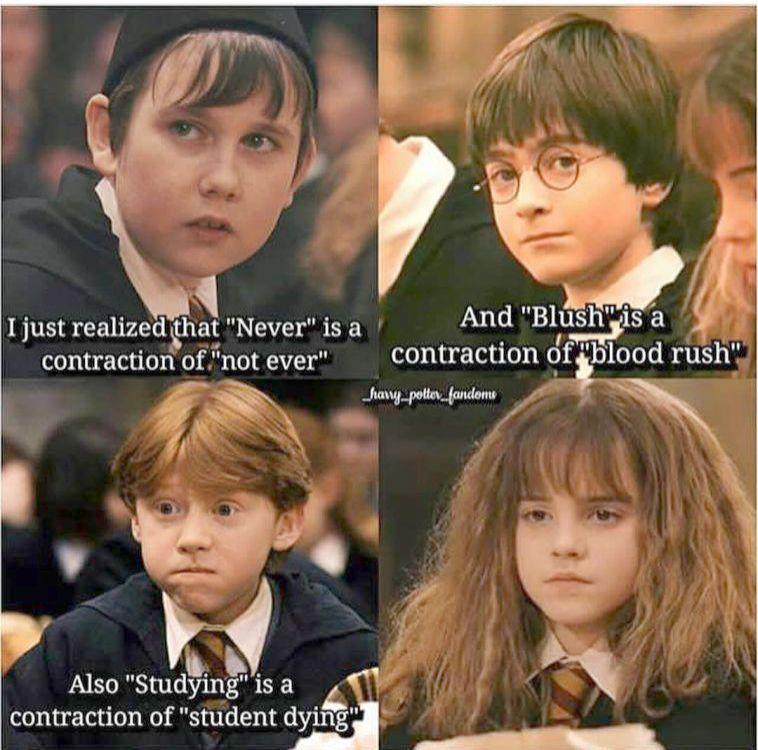 Harry Potter Quotes Spells Through Harry Potter Characters By House Lest Harry Potter Cast Ne Harry Potter Memes Hilarious Harry Potter Jokes Harry Potter Puns
