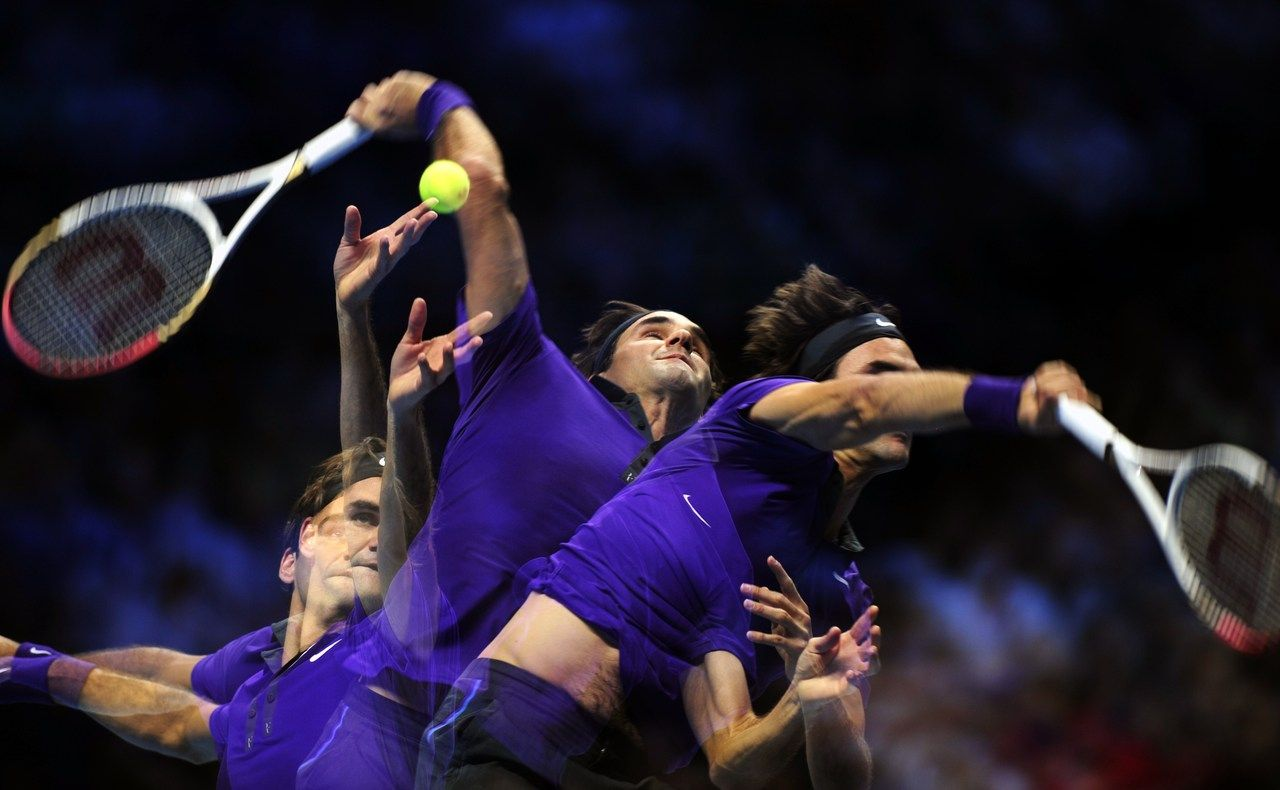 El mago ATP World Tour Finals Roger federer, Tennis