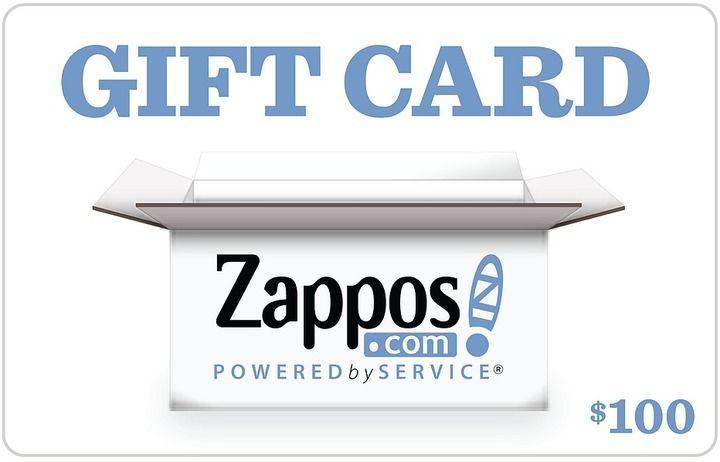 Zappos 100 gift card clothes gift card egift card