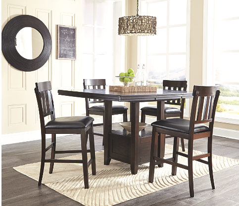 Elegant & Comfy Counter Height Table & Chairs. $598.88 Every Day.