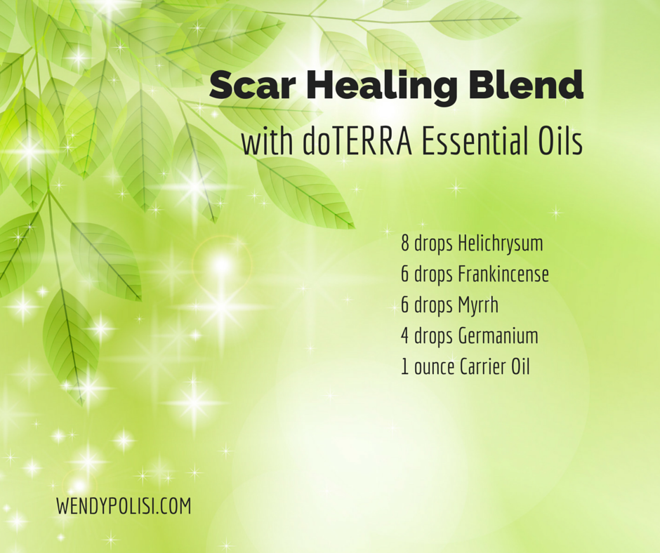 Scar Healing Blend With Essential Oils Diy Pinterest Essential