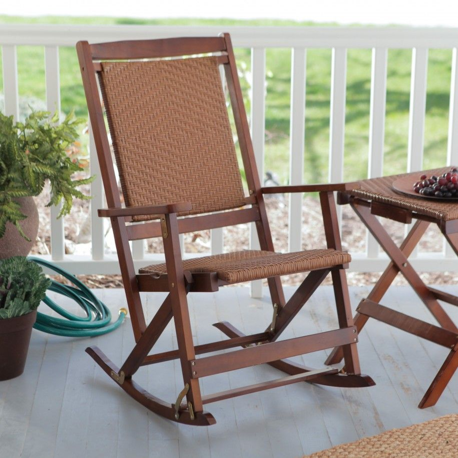 Chair deck Designs Outdoor Folding Rocking Chairs Design And