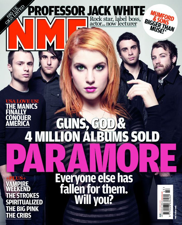 Image result for Nme paramore magazine