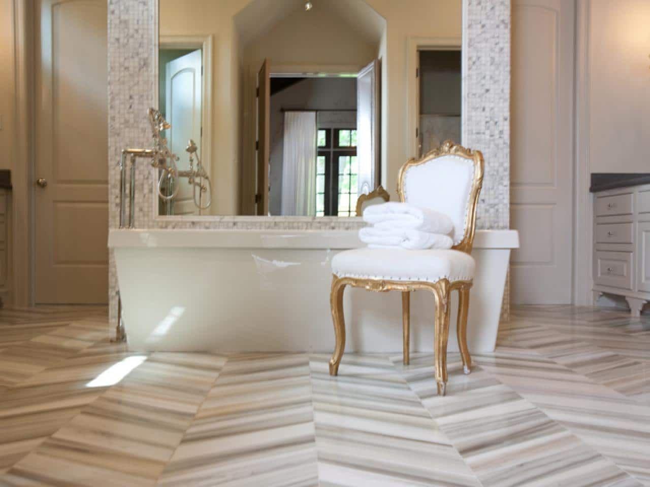 Marble Flooring Pros Cons Design Ideas And Cost Herringbone Marble Floor Flooring Inspiration Design