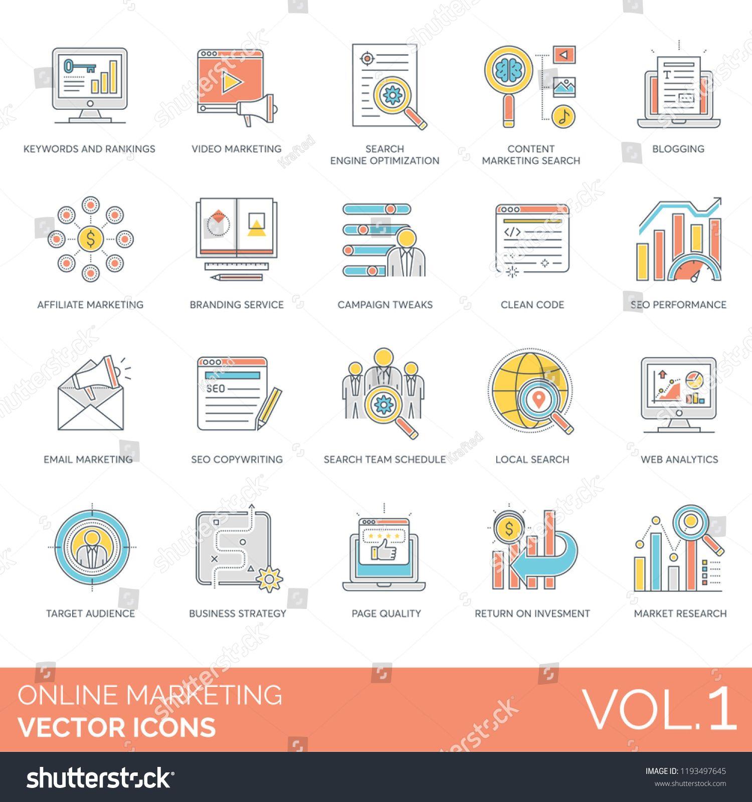 Keywords and rankings, blogging, branding service, campaign tweaks