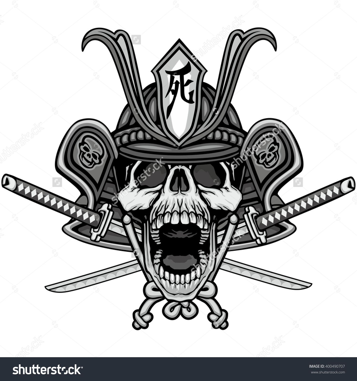 Design tattoos art tattoos tattoo designs oni mask japanese warrior skull