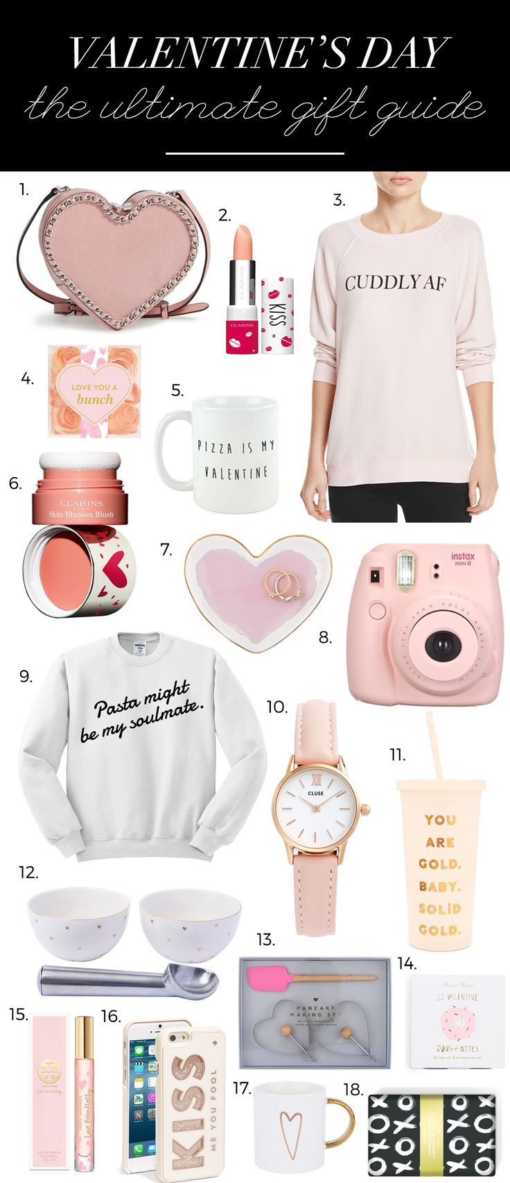 Valentines Day Ideas For Her Valentines Gifts Best Valentine Gift For Her Valentines Day Presents Valentines Ideas For Her Best Valentines Day Presents ...  sc 1 st  Pinterest & Valentineu0027s Day Gifts For Everyone | GALENTINEu0027S DAY | Valentine ...