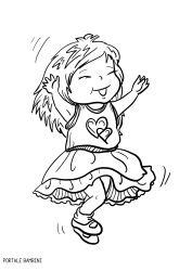 Disegni Di Bambine E Ragazze Da Colorare Cocuk Color Coloring