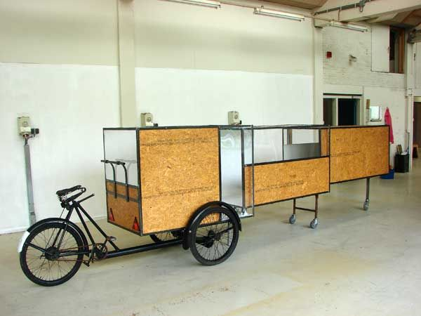 Han S Mobile Shelters And Designs Cargo Bike Bicycle Trailer