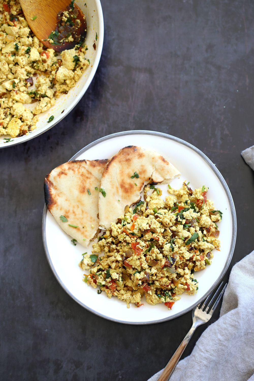 Tofu Bhurji Vegan Bhurji Indian Breakfast Scramble Vegan Richa Recipe In 2020 Savory Breakfast Recipes Vegan Dinner Recipes Vegan Breakfast Recipes