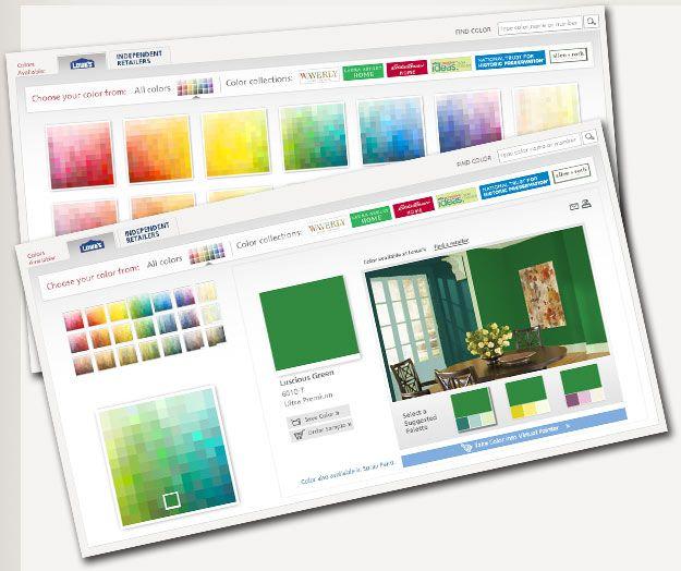 color selector color online coloring paint colors on valspar virtual paint a room id=85889