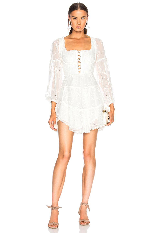 1c659d214a4 ZIMMERMANN Lovelorn Corset Mini Dress.  zimmermann  cloth ...