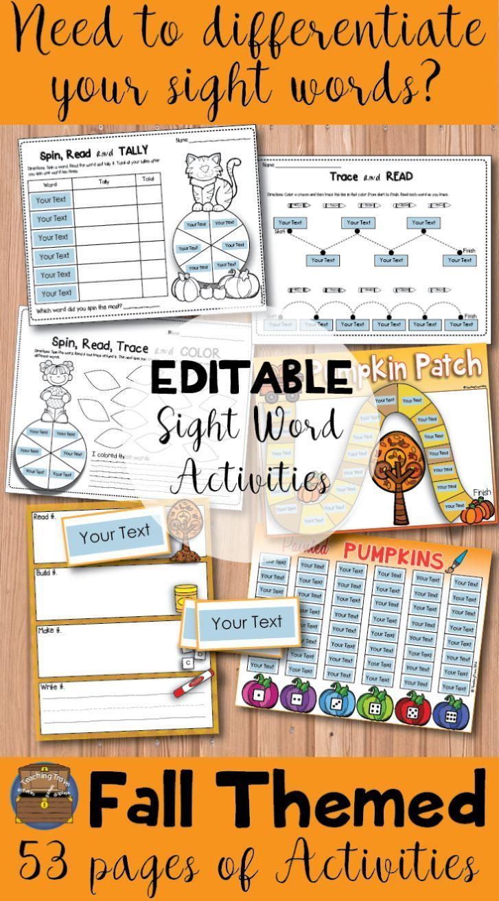 Editable Sight Words And Games Students Kindergarten And Sight - World first language list