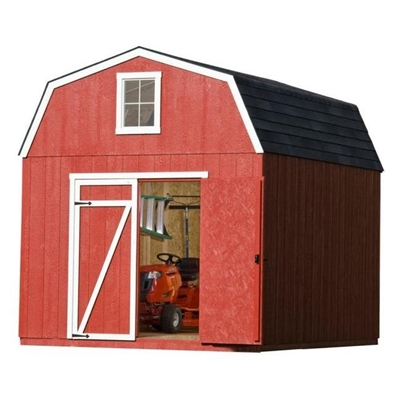 Heartland Estate 10 Ft X 12 Ft Engineered Wood Storage Shed Wood Storage Sheds Shed Shed Plans