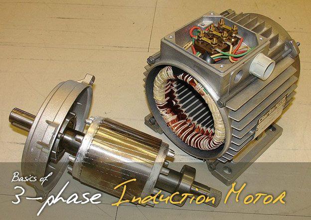 Basics of 3-phase Induction Motor (part 1) | Library ✈ EE ...
