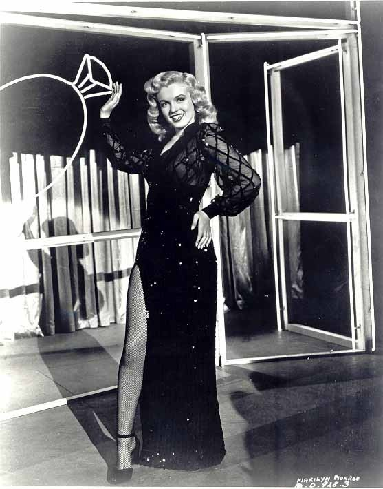 Marilyn in a publicity photo for Ladies of the Chorus, 1948.
