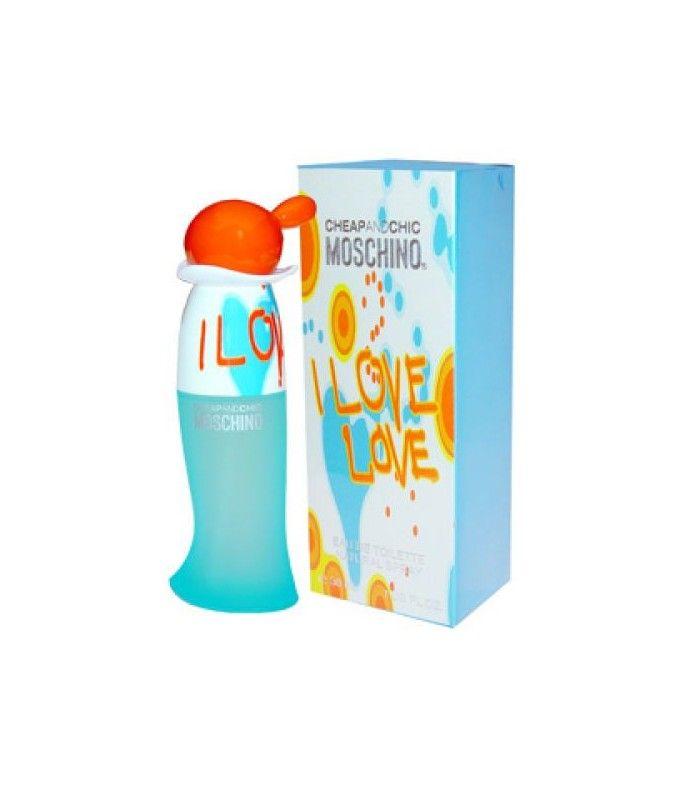 MOSCHINO I LOVE CHEAP Y CHIC EAU DE TOILETTE VAPORIZADOR - WEHBE Tienda Online