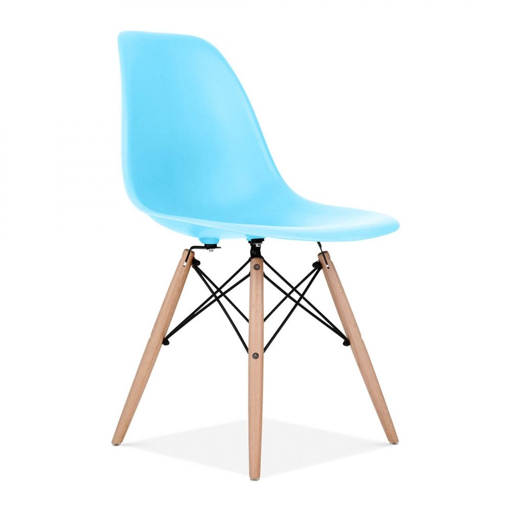 Eames Blau DSW Stuhl   Cafe & Ess Stühle   Cult Furniture DE ...