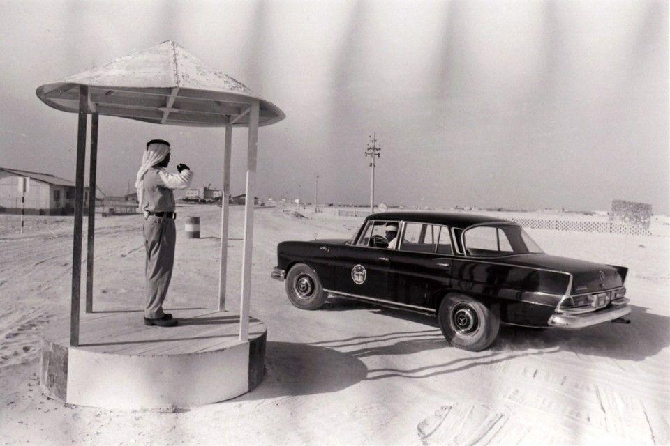 Time Frame Rush Hour In Abu Dhabi 1968 Abu Dhabi Abu Trucial