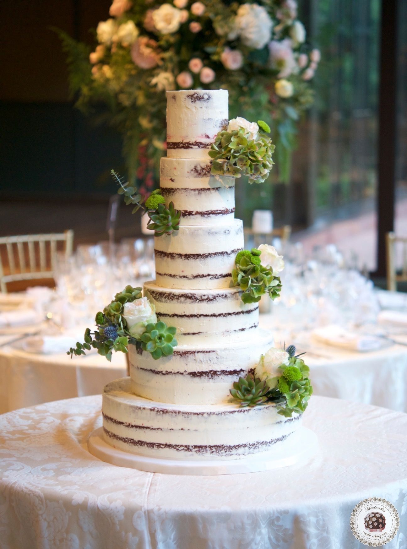 Whimsical Garden Wedding Cake Meri Cakes Garden
