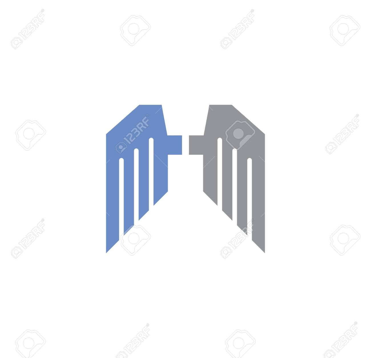 Wing related icon on background for graphic and web design. Creative illustration concept symbol for web or mobile app Illustration , #SPONSORED, #graphic, #web, #design, #background, #Wing