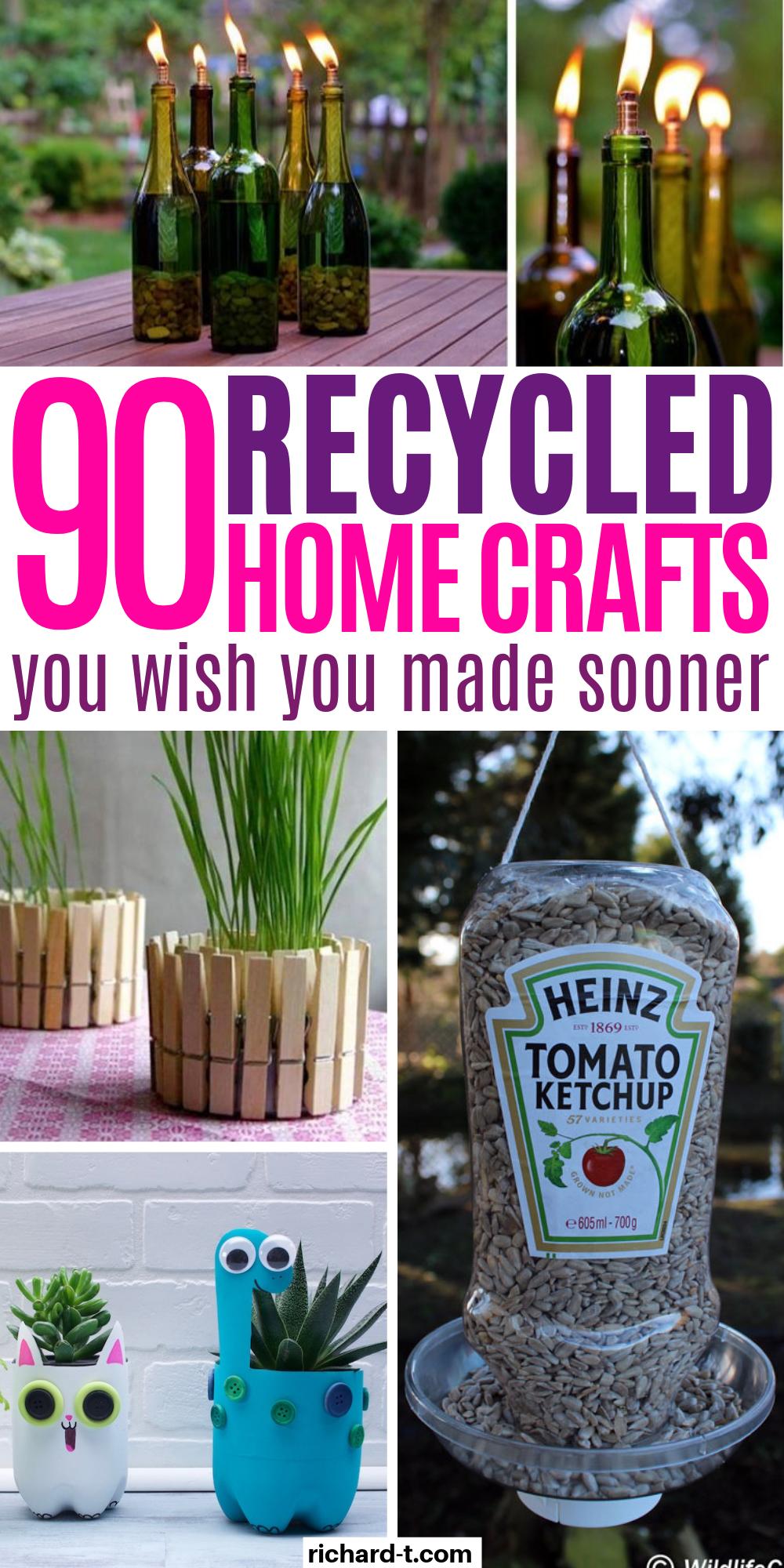 Photo of Über 90 recycelte Projekte, die Ihr Zuhause tatsächlich verwandeln – UPCYCLING IDEEN – Katie