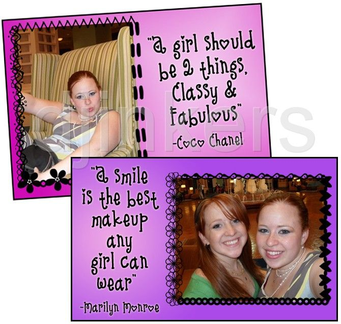 Girl Quotes, Cute Fonts, Cute Borders, Girly