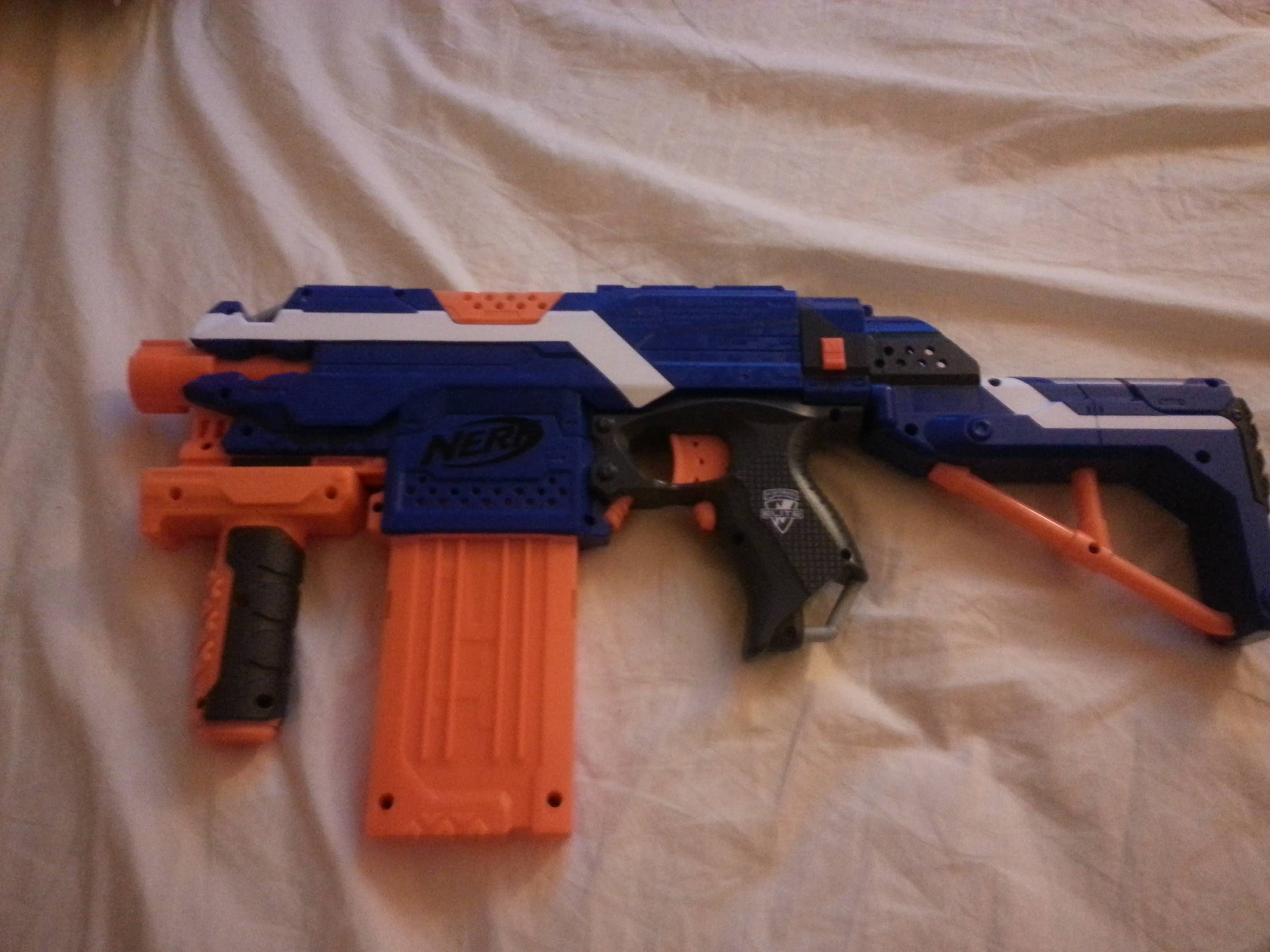 XSW 3D Printing CQR Appearance Kit for Nerf Stryfe