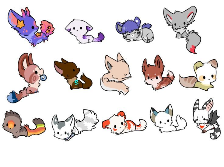 Image Result For Chibi Animals Drawings Cool Stuff Cute