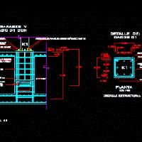 Concrete Slabs Reinforced With Detail (dwg - Autocad drawing