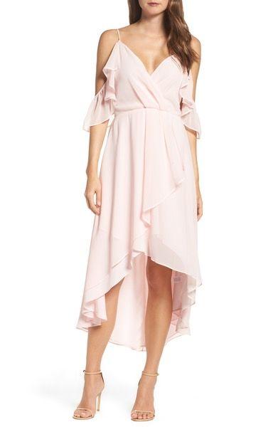 Main Image - Chelsea28 Ruffle Off the Shoulder Dress