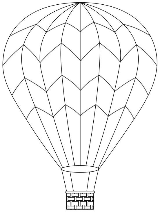 hot air balloon april 29 can print more templates too