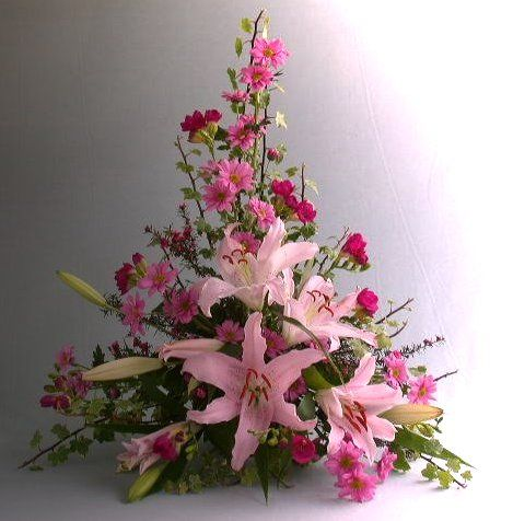 silk flower arrangements for weddings flower arrangement