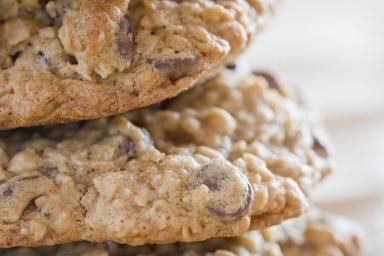 Low Calorie Chocolate Chip Oatmeal Cookies Recipe In 2019