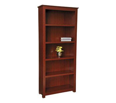 Officemax Mahogany Finish 5 Shelf Bookcase Bookcase Mahogany