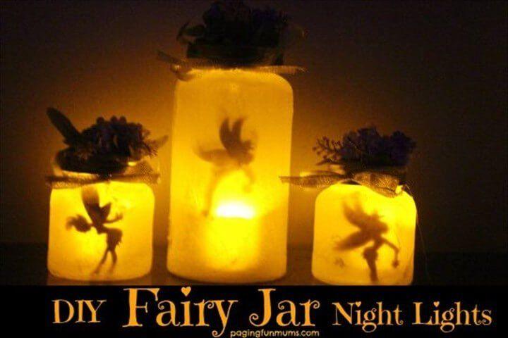 30 DIY Mason Jar Fairy Lights – Fai
